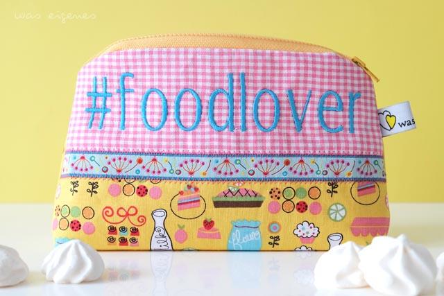DIY Hashtag Schminktäschchen | #foodlover | waseigenes.com DIY Blog
