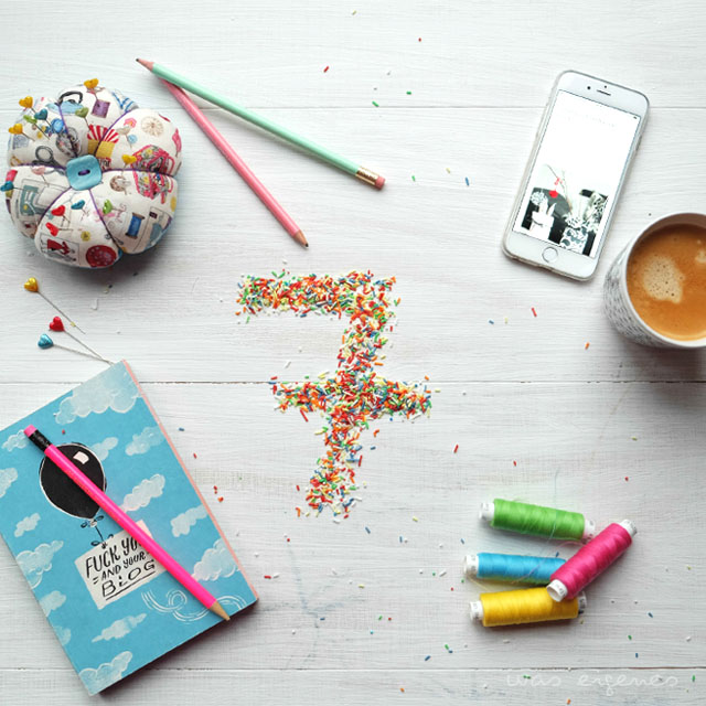 Sieben Jahre was eigenes Blog | Bloggeburtstag | Giveaway Juniqe | waseigenes.com