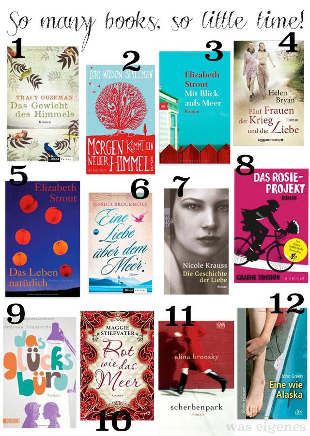 Meine liebsten Bücher 2014 | waseigenes.com