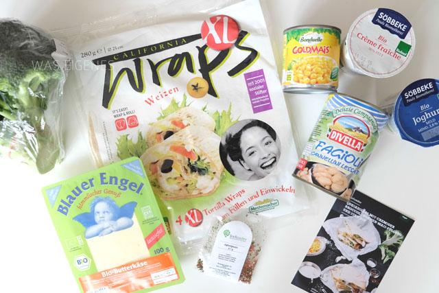 Zutaten Quesadillas mit cremiger Broccoli-Bohnen-Mais-Füllung und Star-Dip / #Kochzauber /was eigenes Blog