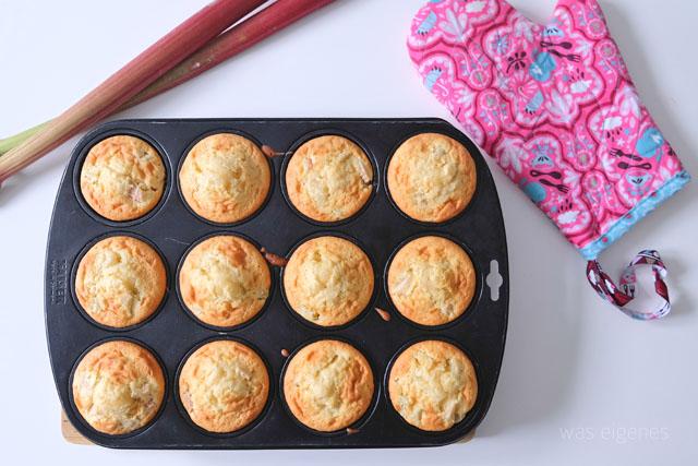 Rhabarber Cupcakes was eigenes Blog Rezept 4