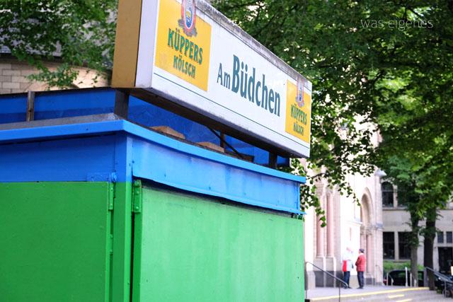 Kölner Büdchen | Kiosk | Berrenrather Strasse Köln | Das älteste Büdchen der Stadt | waseigenes.com