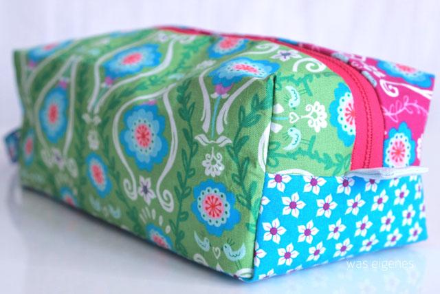 DIY Tasche für Strickutensilien | Schnittmuster Machwerk | was eigenes.com Blog | Poppy go lucky Stoff Jolijou