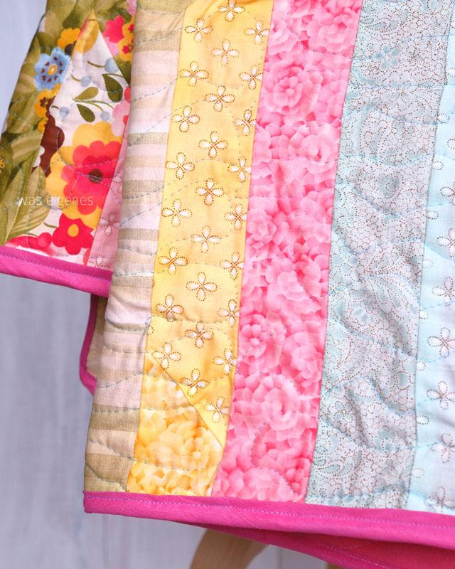Jelly Roll Moda Quilt | DIY | selbernähen | was eigenes Blog