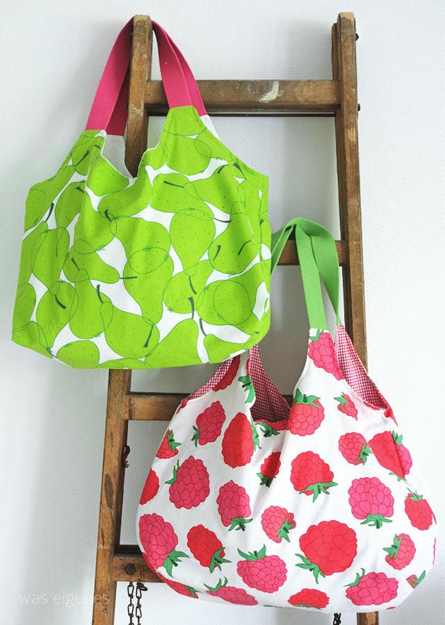 DIY Charlie Bag mit Gurtband und Futter | was eigenes Blog
