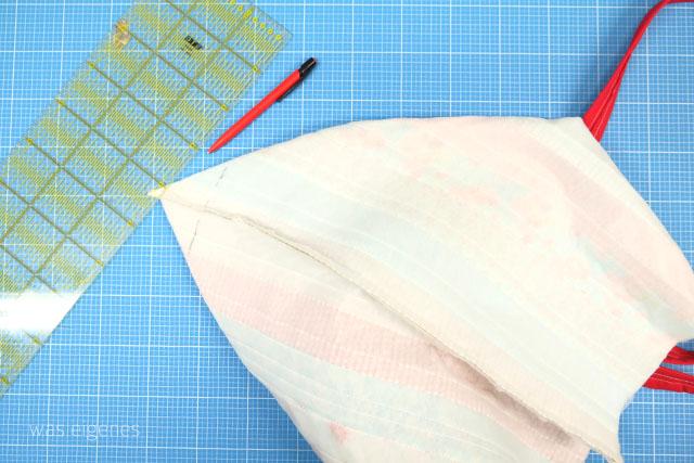 DIY Nähanleitung: Jelly Roll Tasche selber nähen | Schritt für Schritt Nähanleitung | DIY Beach Bag, Strandtrasche | waseigenes.com DIY Blog
