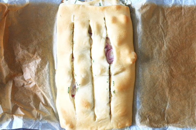 Rezept: Pizza Zwiebel Brot | was eigenes Blog