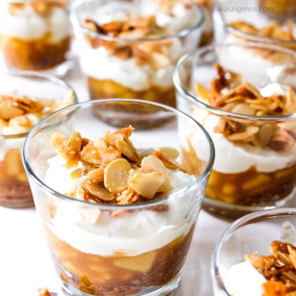 Köstliches Bratapfel Tiramisu | Rezept und Anleitung | Herbst- Winter Dessert | waseigenes.com