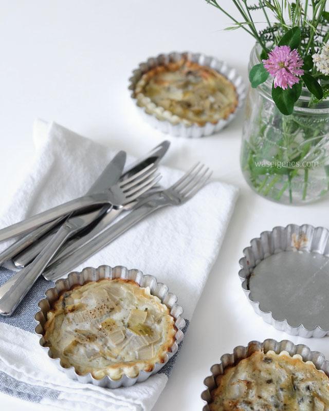 Rezept- Chicorée Roquefort Tartelettes | was eigenes Blog