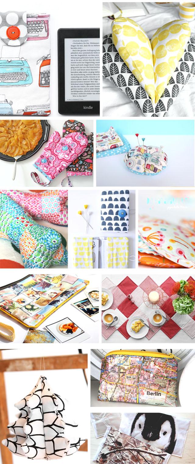 DIY 12 genähte Geschenke zu Weihnachten | DIY Nähanleitungen | Geschenkideen zu Weihnachten | Leseherz, Kindle Hülle, Weihnachtsbäumchen, waseigenes.com DIY Blog