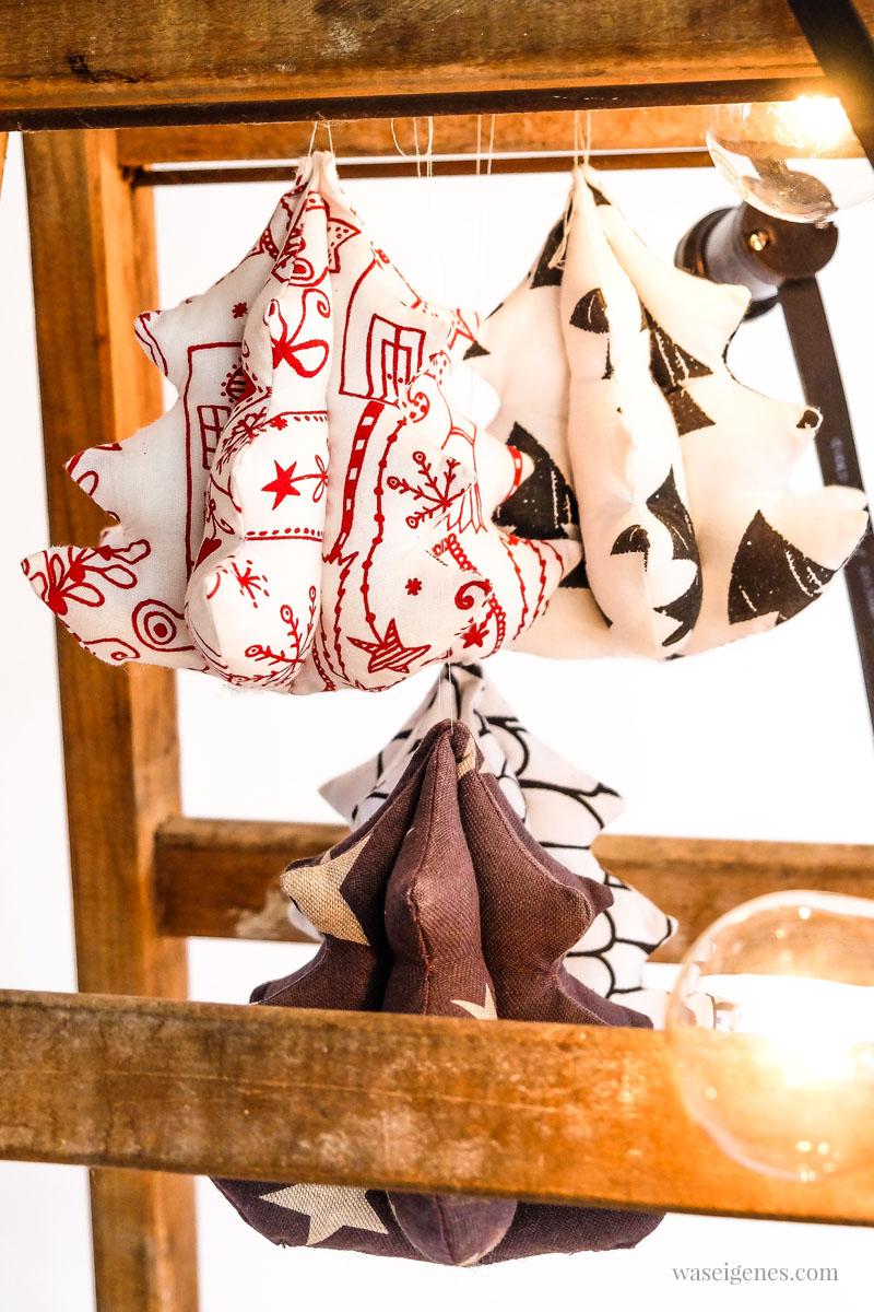 DIY Weihnachten: 3 D Weihnachtsbaum nähen | Nähanleitung für ein kleines 3 D Weihnachtsbäumchen | waseigenes.com