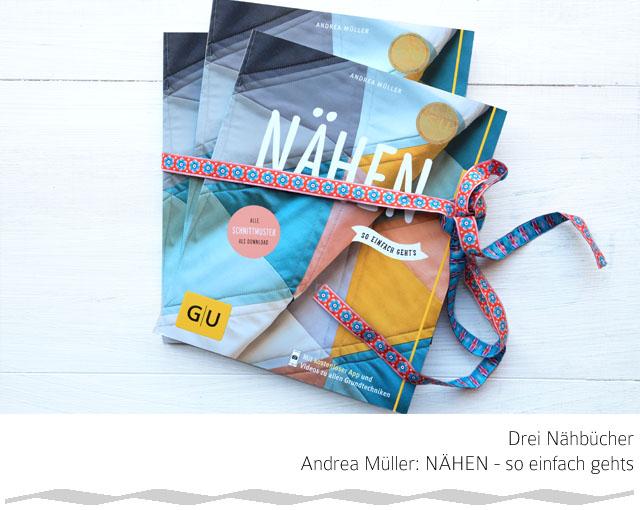 Giveaway Andrea Müller | Nähen so einfach gehts | GU Verlag | waseigenes.com