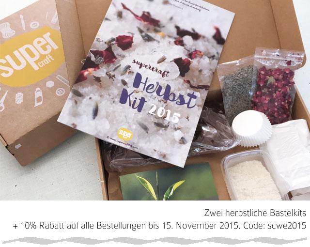 Giveaway Supercraft | herbstliche Bastelkits | waseigenes.com