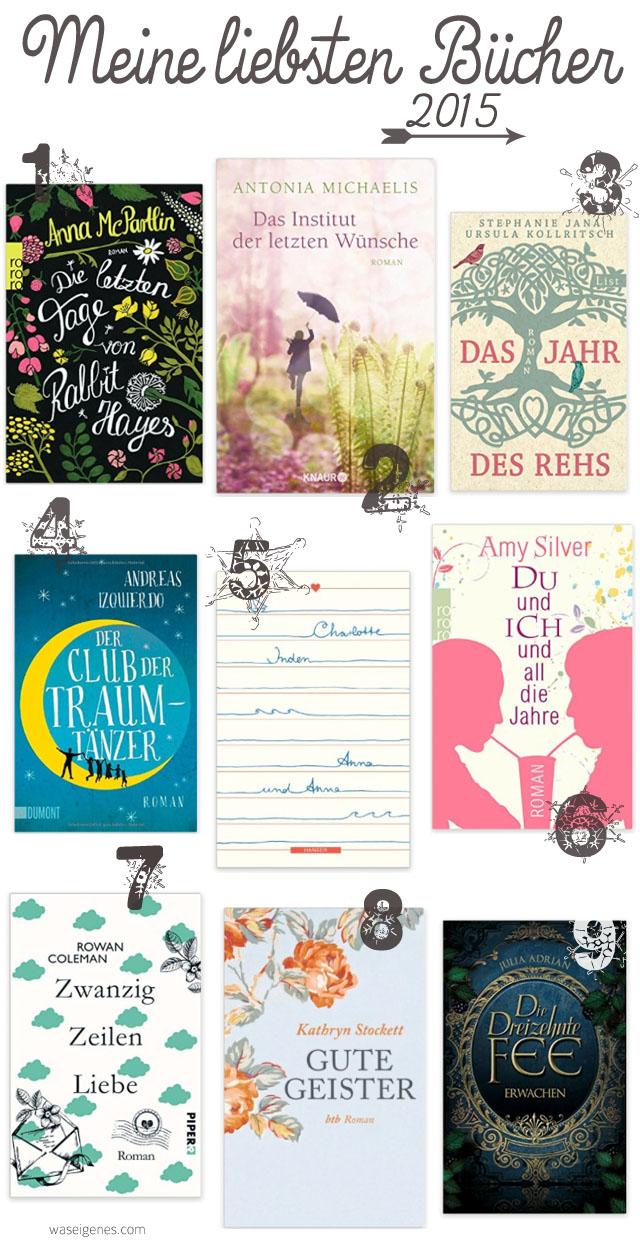 Meine liebsten Bücher 2015 | waseigenes.com Blog