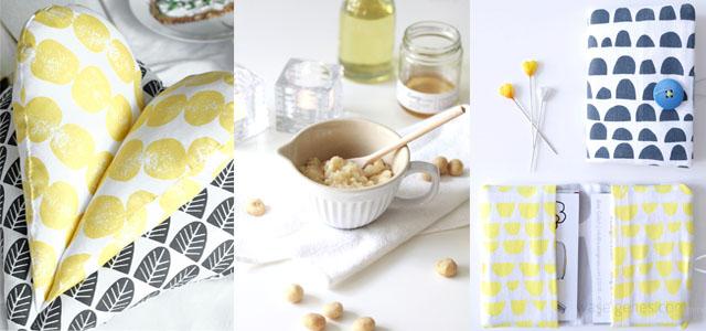 Leseherz (Schnitt und Anleitung waseigenes.com) | Macadamia Body Scrub | Visitenkarten Etui