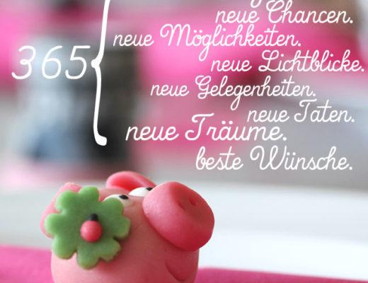365 Tage. Neue Chancen, neue Möglichkeiten, neue Lichtblicke, neue Gelegenheiten, neue Taten, neue Träume, beste Wünsche | Jahreswechsel 2016-2017 | waseigenes.com