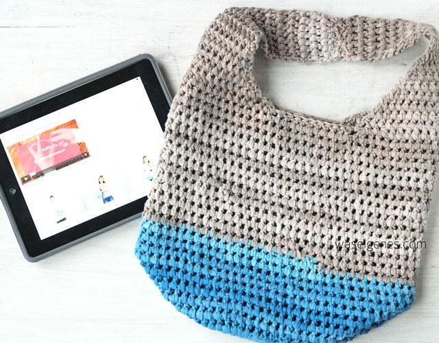 Häkeltasche Hailey | Meisterclass Online Kurs | DIY | Sommertasche & Beutel | selbst gehäkelte Tasche | waseigenes.com DIY Blog