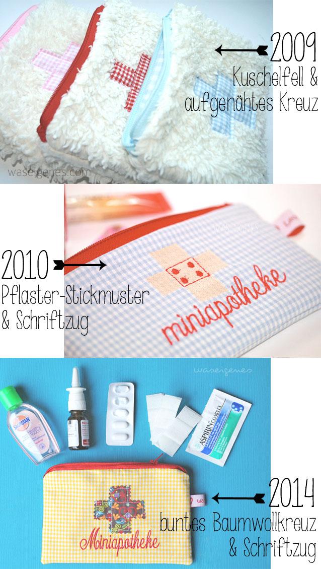 Arznei & Erste Hilfe Täschchen | Zeitreise Miniapotheke seit 2009 | © waseigenes.com