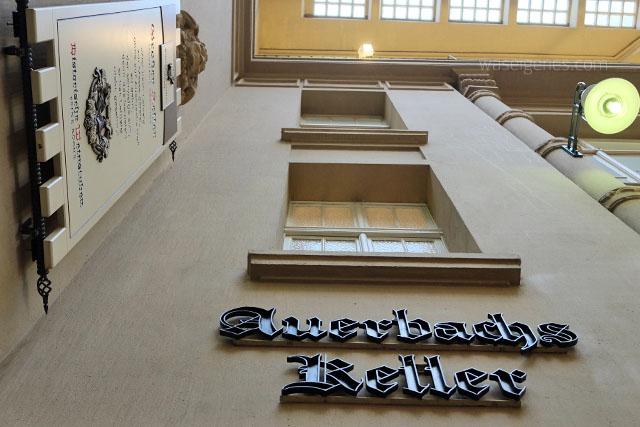 Ein Wochenende in Leipzig | waseigenes.com | Auerbachs Keller