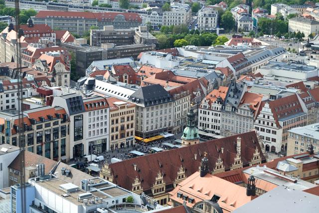 Ein Wochenende in Leipzig | waseigenes.com | Blick vom MDR Turm | Uniriesen