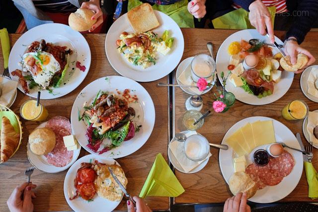 Ein Wochenende in Leipzig | waseigenes.com | Fruehstueck Cafe Cantona