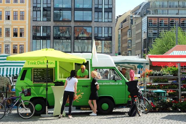 Ein Wochenende in Leipzig | waseigenes.com | Marktplatz