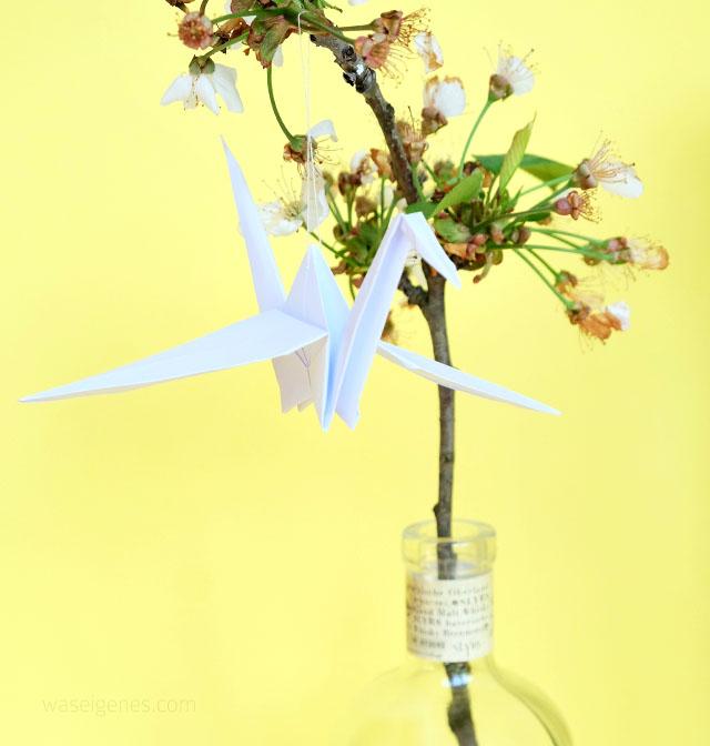 Origami Kranich | waseigenes.com