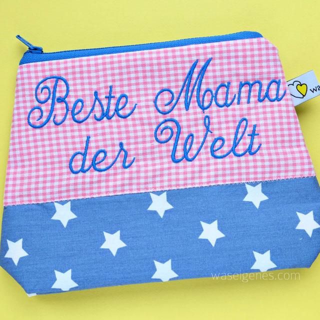 Schminktaeschchen | Sterne | Beste Mama der Welt | waseigenes.com