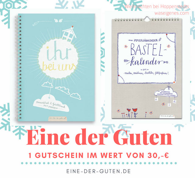 Weihnachten bei Hoppenstedts | Adventskalender 2016 | waseigenes.com | Eine der Guten