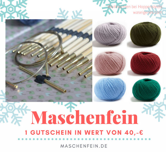Weihnachten bei Hoppenstedts | Adventskalender 2016 | waseigenes.com | Maschenfein