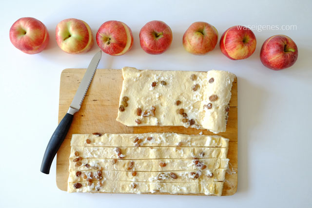 Rezept: Bratapfelkuchen mit ganzen Äpfeln | waseigenes.com