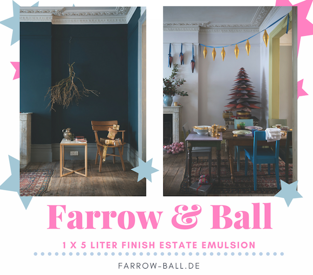 Adventskalender 2016 | waseigenes.com | Farrow & Ball