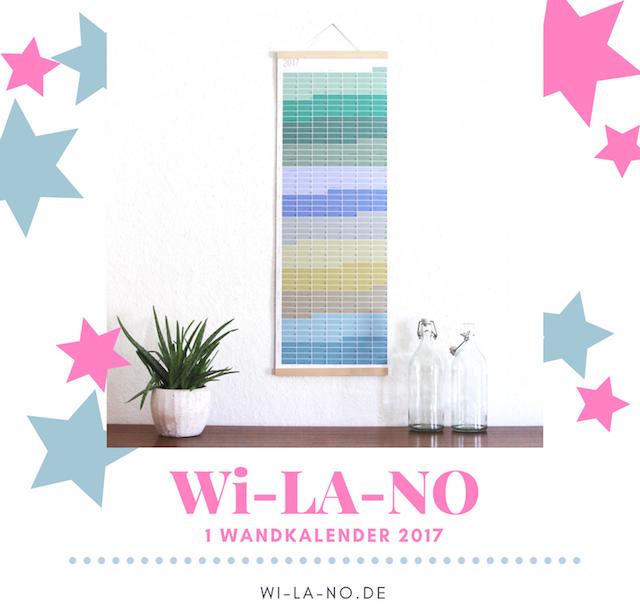 Adventskalender 2016 | waseigenes.com | WI LA NO