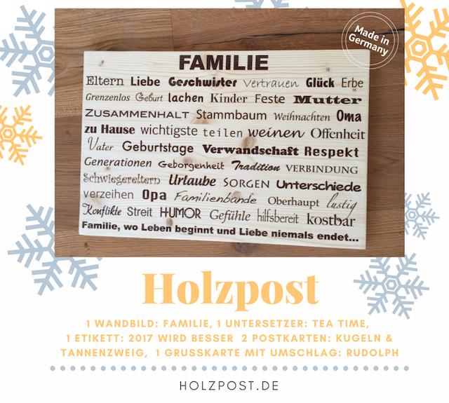 Adventskalender Weihnachten bei Hoppenstedts waseigenes.com Blog | Holzpost