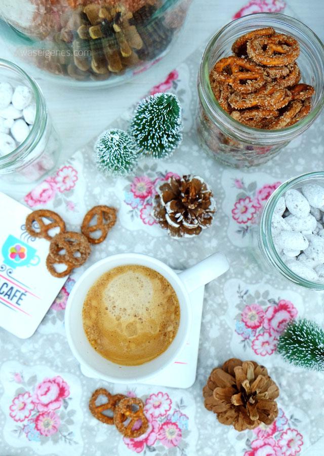 Bines Café | Weihnachtsmandeln und ZuckerZimtBrezn | waseigenes.com