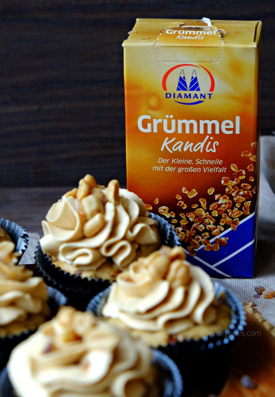 Rezept: Erdnussbutter Cupcakes   Cupcakes mit Erdnussbutter Topping   Was backe ich heute?   waseigenes.com