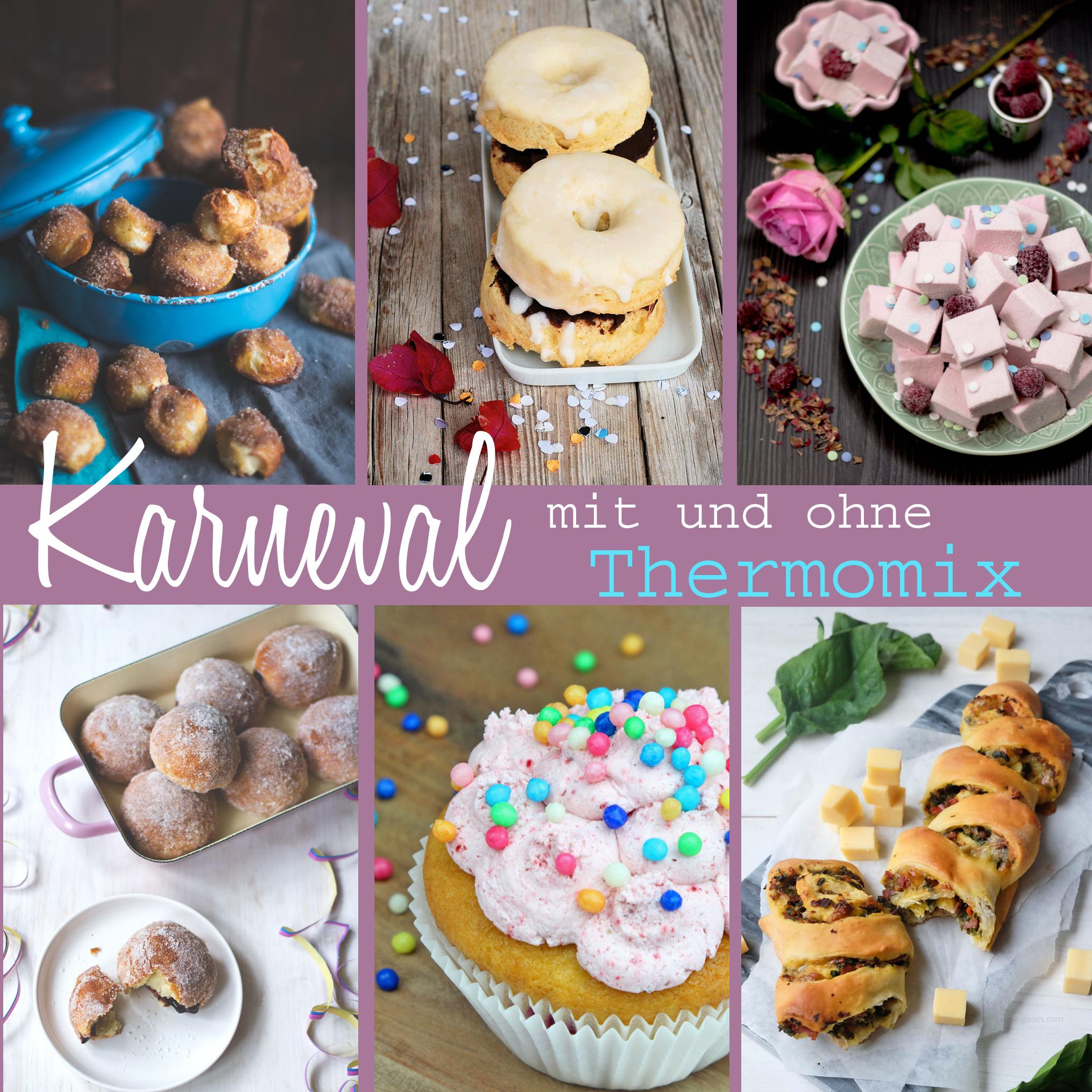 Sechs Rezepte für das Karnevals- oder Partybuffet | Thermomix Rezepte