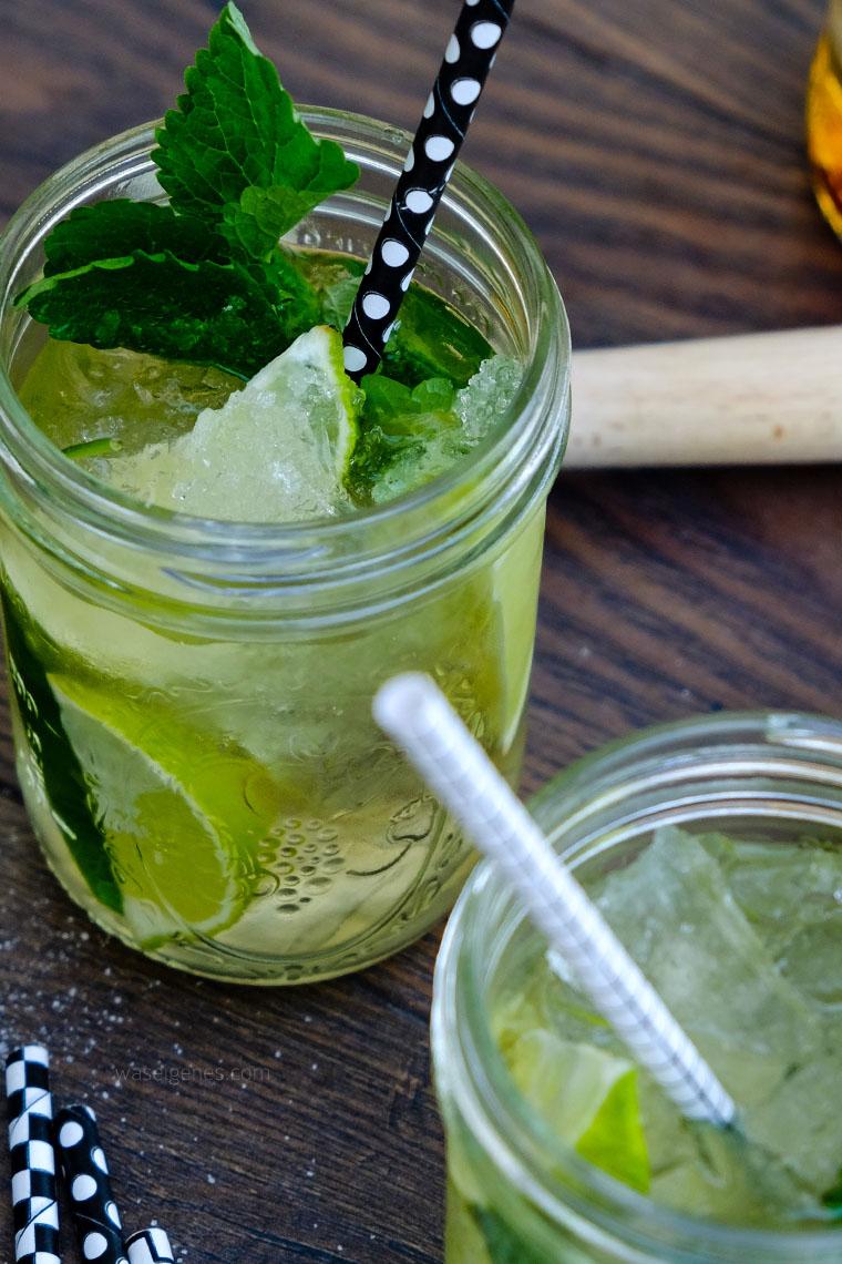 Rezept: Spiced Mojito | Rum, Limetten, Minze, Soda Wasser | waseigenes.com