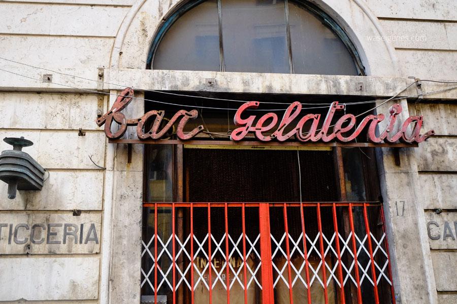 Rom | ewige und heilige Stadt | Italien | Kurzurlaub | waseigenes.com | bar gelateria