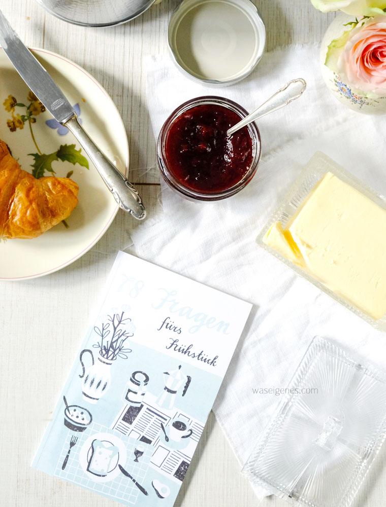 FLOW- eine Zeitschrift ohne Eile | Entschleunigung, Achtsamkeit, positive Denkanstöße | 78 Fragen fürs Frühstück | Croissant & Kaffee | waseigenes.com