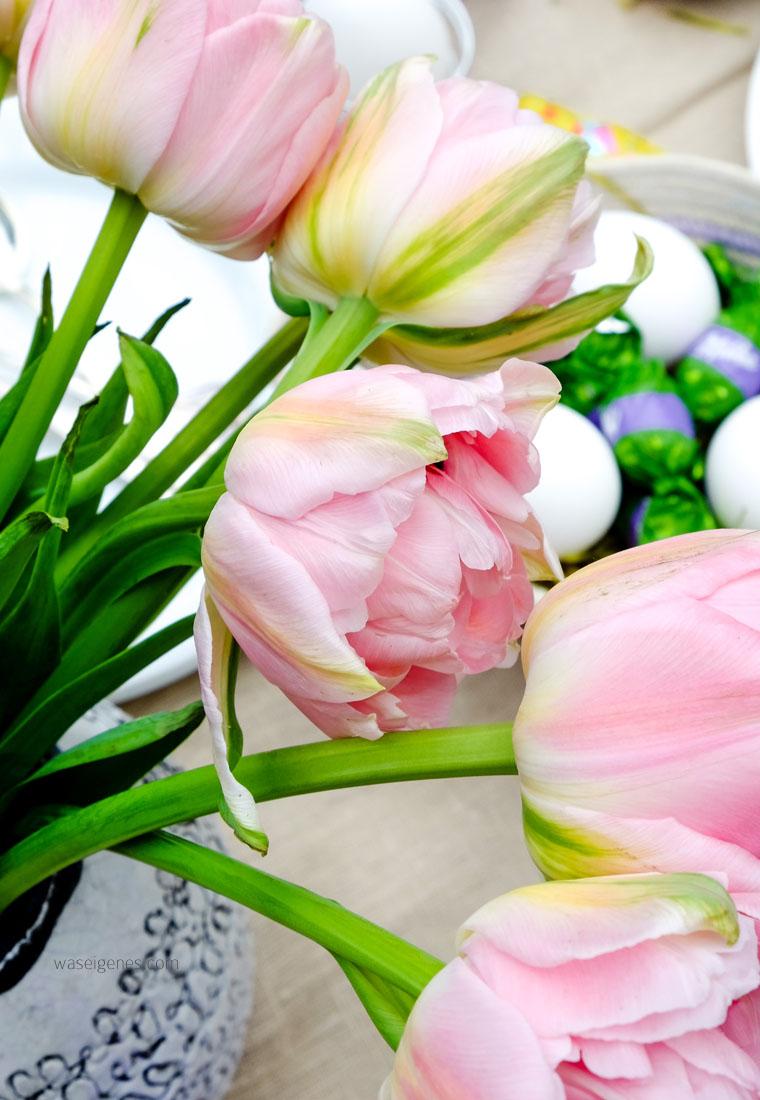 Tulpen | Ostern | Ostertafel | Tischdekoration | waseigenes.com