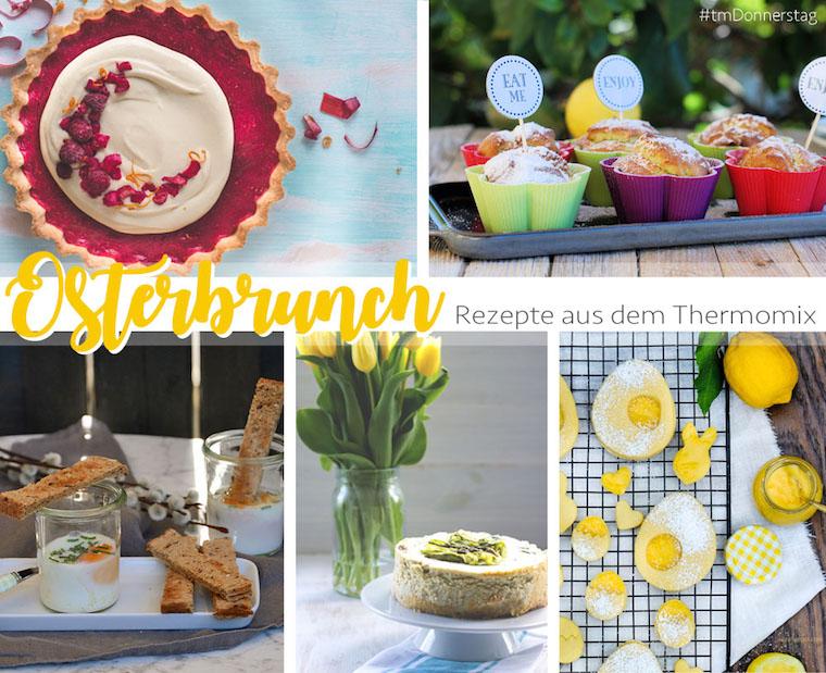 Fünf Rezepte für den Osterbrunch: Lemon Curd Plätzchen, Rhabarber Tarte mit Eierlikör, Oef en Cocette, Spargel Cheesecake und Avocado Zitronen Muffins | waseigenes.com