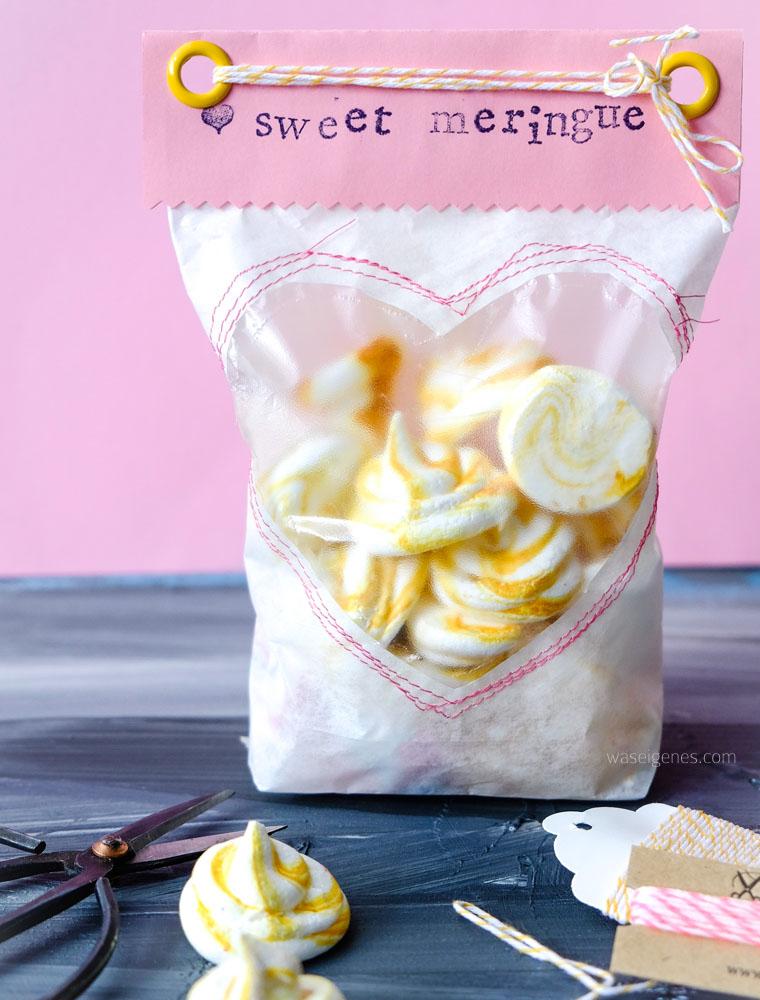 Geschenke aus der Küche: sweet meringue hübsch verpackt | waseigenes.com