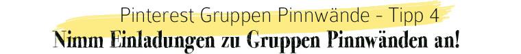 Pinterest Gruppen Pinnwände: Nimm Einladungen zu Gruppen Pinnwänden an | waseigenes.com
