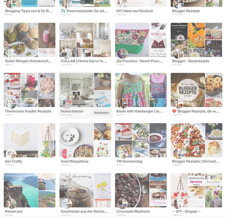 Pinterest Gruppen Pinnwände | gemeinsam pinnen, zusammen arbeiten | waseigenes.com