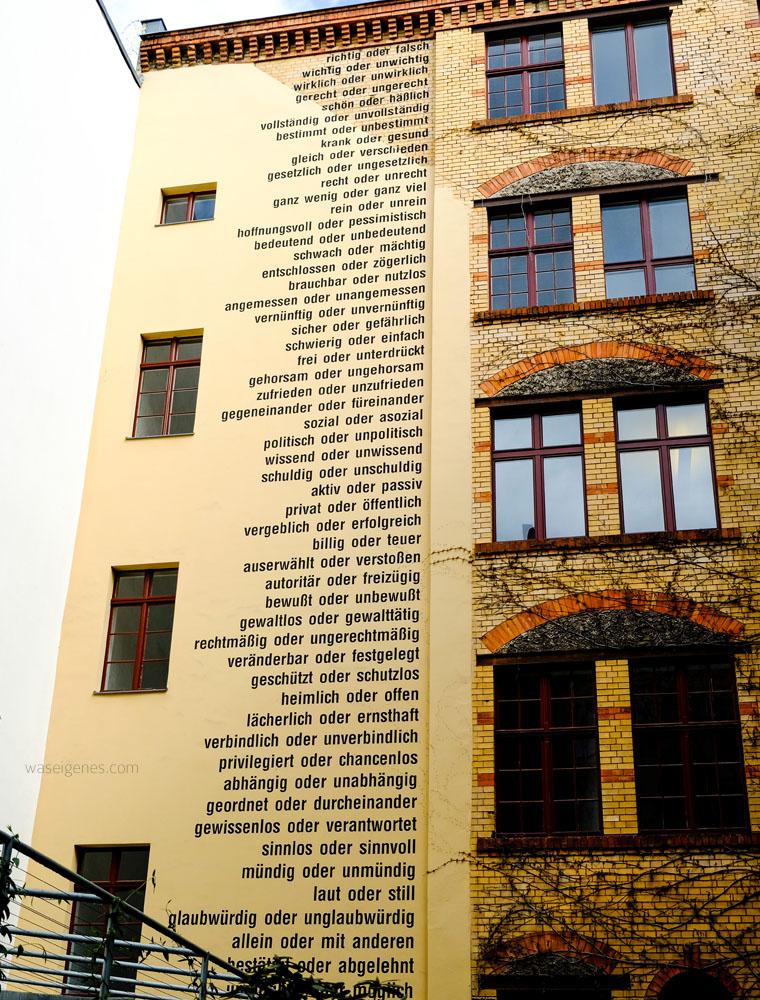 Familientrip nach Berlin | Sophien Höfe | waseigenes.com