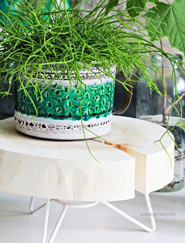 Blumenständer aus Holz | waseigenes.com