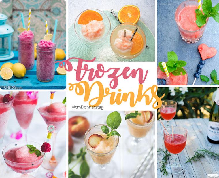 Frozen Drinks | 6 eiskalte Drink Rezepte aus dem Thermomix | #tmDonnerstag