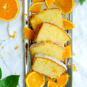 Rezept Saftiger Orangen Kuchen mit Zuckerguss | waseigenes.com