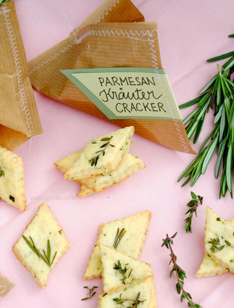 Parmesan Kräuter Cracker | Thermomix Rezept | waseigenes.com